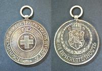 WWI Bulgaria Royal Red Cross silver medal N10