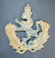 1878 Russia Turkey war Volunteer badge RARE