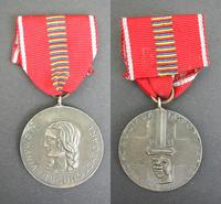 WWII Romania Anti Communist SILVER medal 2 RR
