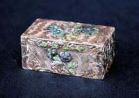 Louis XV vari color Gold Snuff Box Swiss 1770