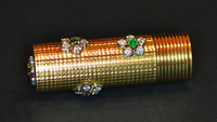Unique CARTIER Gemset Diamond Lipstick Holder