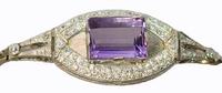 Georges Fouquet Diamond Bracelet in Platinum