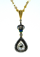 18th Century Mughal Diamond Necklace Pendant