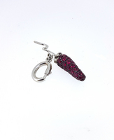 Pippo Perez Red Ruby Chilly Pepper Pendant