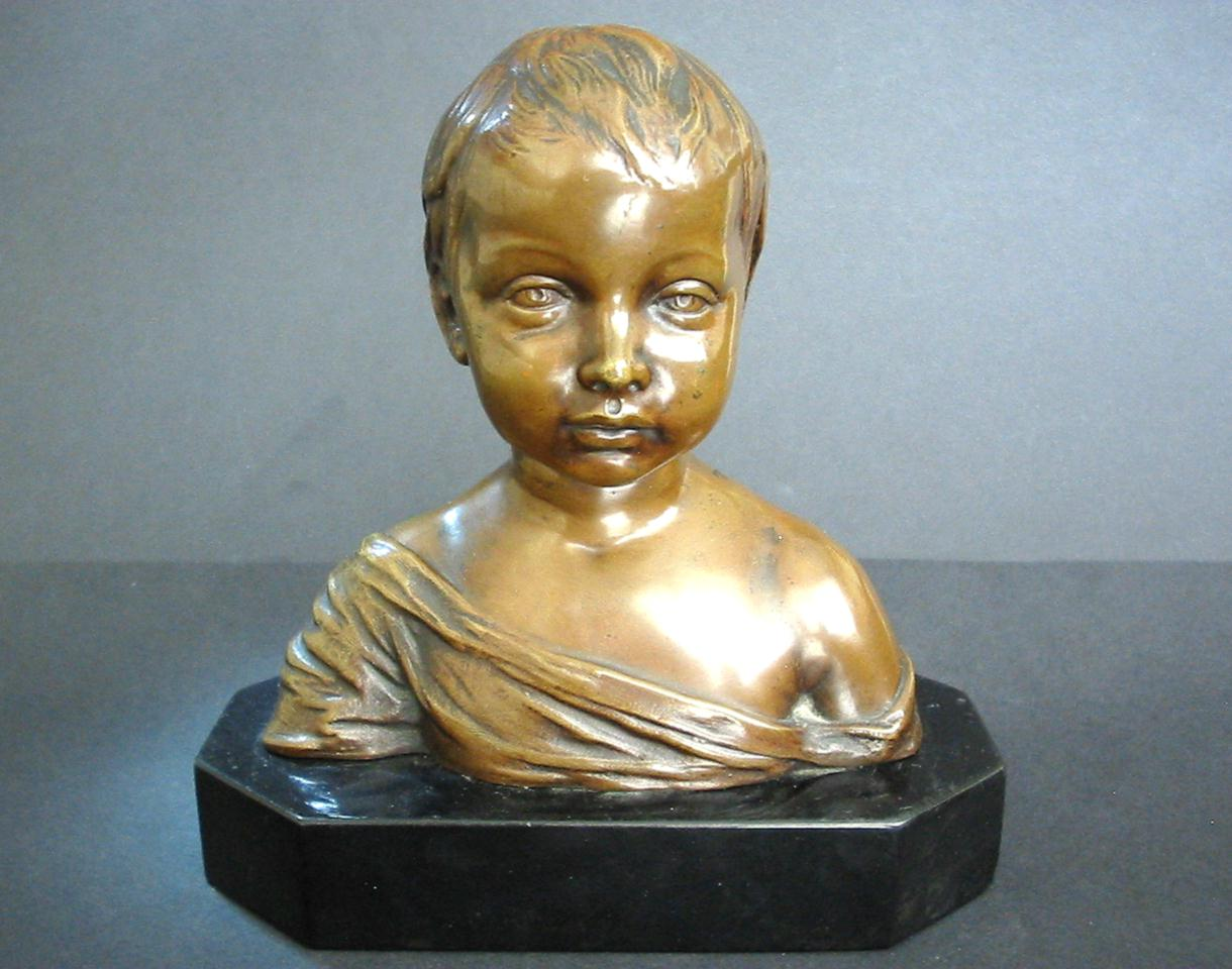 Donatello Bronze Sculpture Infant St John Boy
